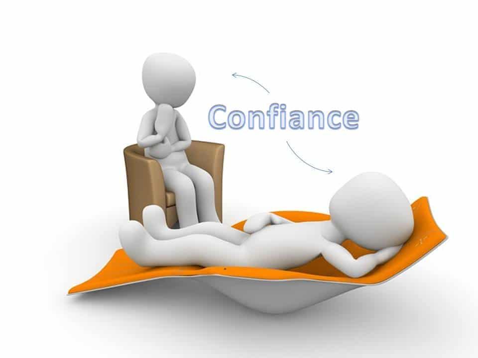 Psychiatre , psychologue , psychothérapeute, à Paris ou ailleurs, la confiance est l'élément essentiel