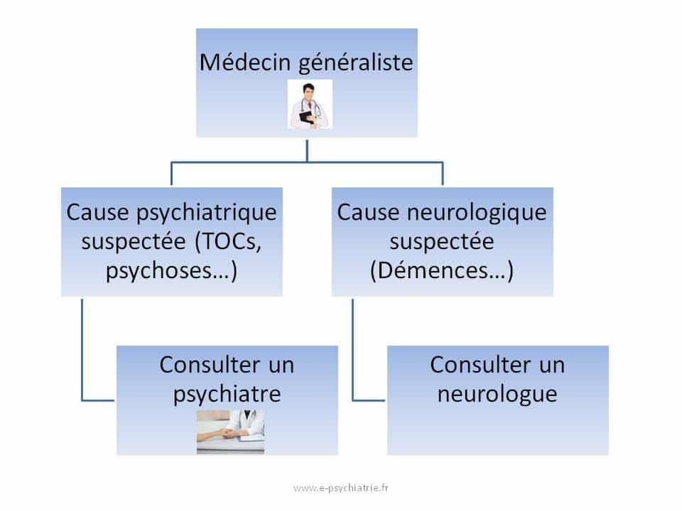 Soigner le syndrome de Diogène place du généraliste du psychiatre et du neurologue